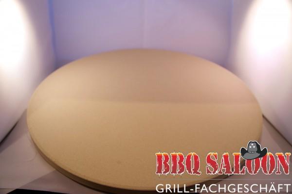 BBQ Saloon Pizzastein rund 38x1,5 cm