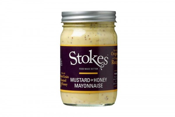STOKES MUSTARD+HONEY MAYONNAISE