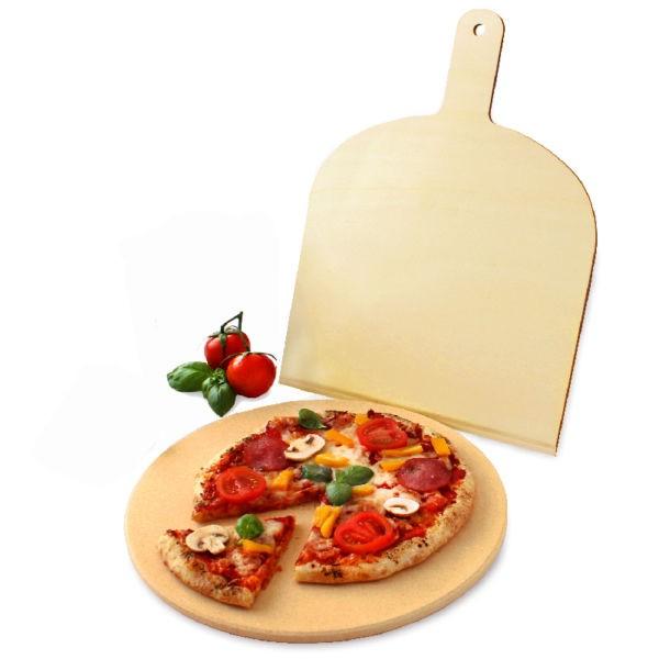 VESUVO Pizzastein rund