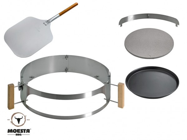 Smokin' PizzaRing - Pizza Set für 47 cm Kugelgrills