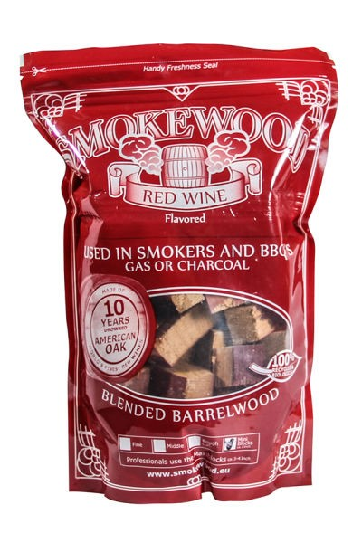 Smokewood Rotwein Mini Blocks