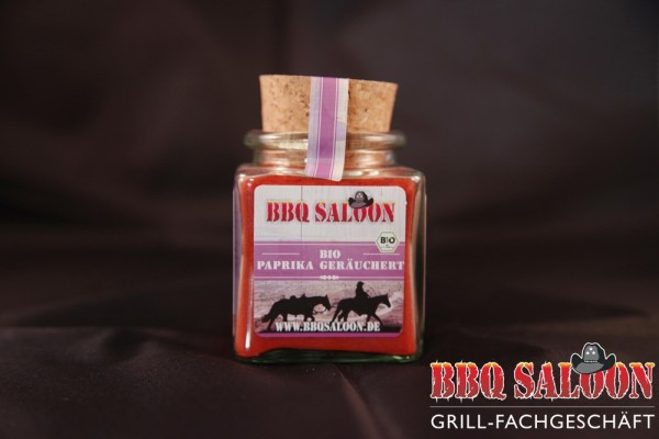 Bio Paprika geräuchert BBQ Saloon 50gr