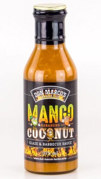 Mango Habanero Coconut Glaze & Barbecue Sauce