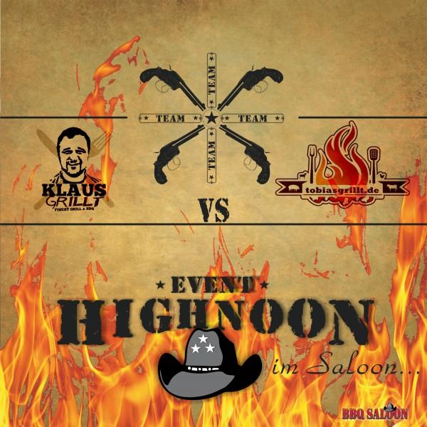 High Noon 2018 - BBQ Battle-Ticketlos