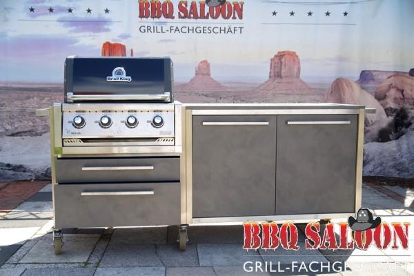 Outdoorküche BurnOut - Broil King Regal 420