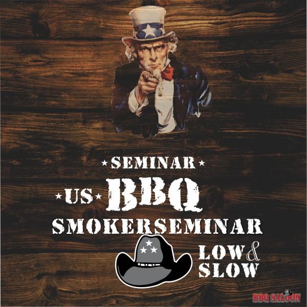 """Grillseminar US BBQ Smokerseminar """"low and slow"""""""