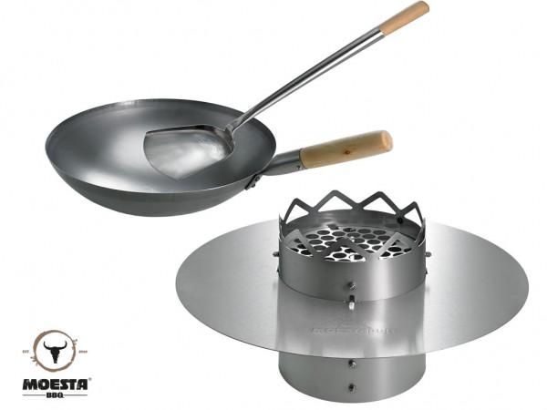 WOK'N BBQ - Komplettpaket für 60 cm Kugelgrills