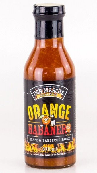 Orange Habanero Glaze & Barbecue Sauce