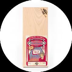 Axtschlag - Aroma Planke Kirschholz 2er Set 400x170x13mm