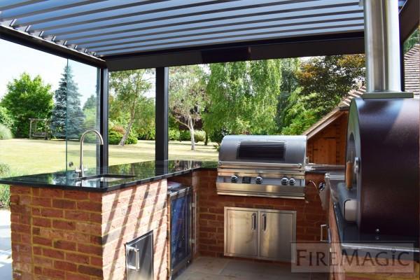Außenküche Mit Smoker : Firemagic outdoorkueche dinner bbqsaloon.de grill shop grills
