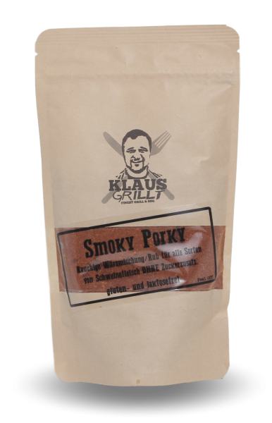 Smoky Porky Rub von Klaus grillt Beutel