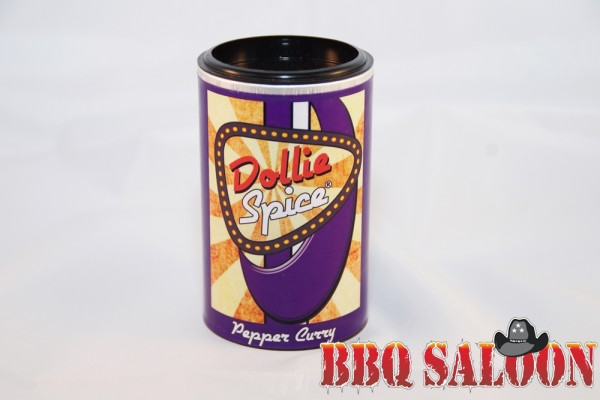 Dollie Spice Pepper Curry, 120g Dose Gewürz