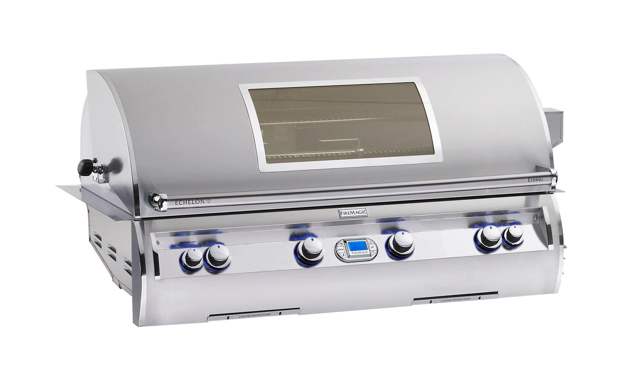 Gasgrill In Outdoor Küche Integrieren : Der gasbetriebene einbaugrill für deine outdoorküche bbqsaloon.de